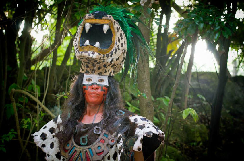 Maya Ancestros Cancun Cultura Culture Historia History Jungla Jungle Maya Mayan Mexico Nature One Person Pasado Ruinas Ruins Travel