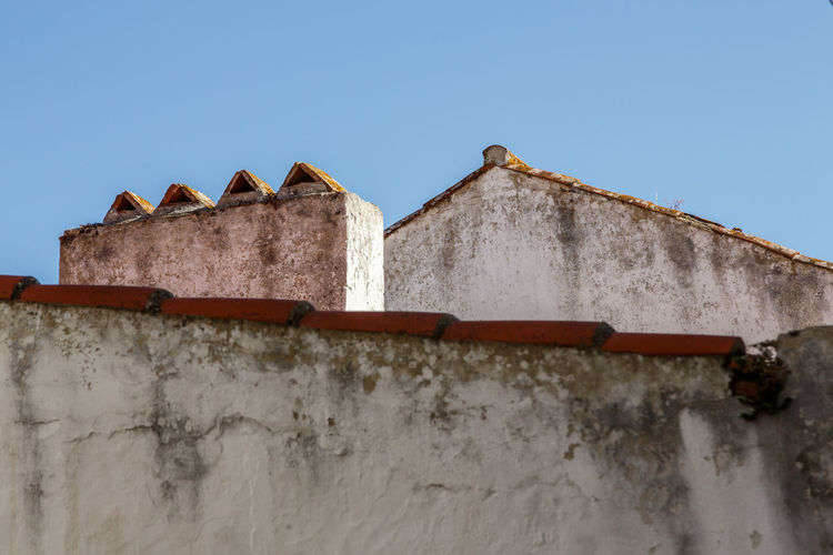 Architecture Building Exterior Built Structure Clear Sky Day Low Angle View Nature No People Outdoors Roof Sky The Architect - 2017 EyeEm Awards Óbidos