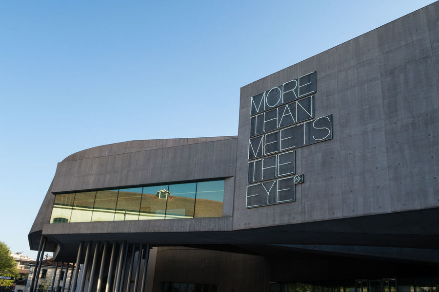 Architecture Blue Building Exterior Built Structure City Clear Sky Day Low Angle View MAXXI Modern More Than Meets The Eye Museum Museum Of Modern Art No People Old And New Architecture Outdoors Reflection Reflections Rome Sky Tourist Destination Neighborhood Map