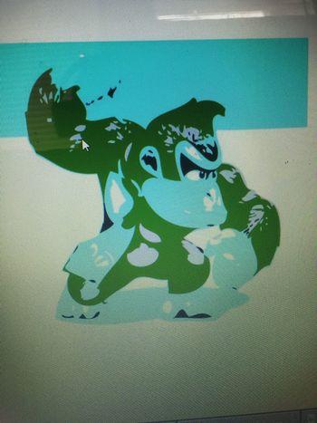 Photoshop Nintendo Donkey Kong