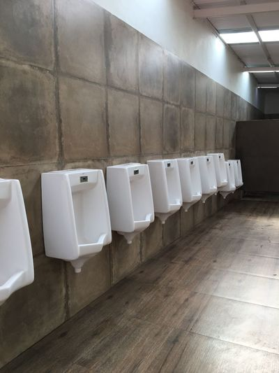 Urinals In Toilet