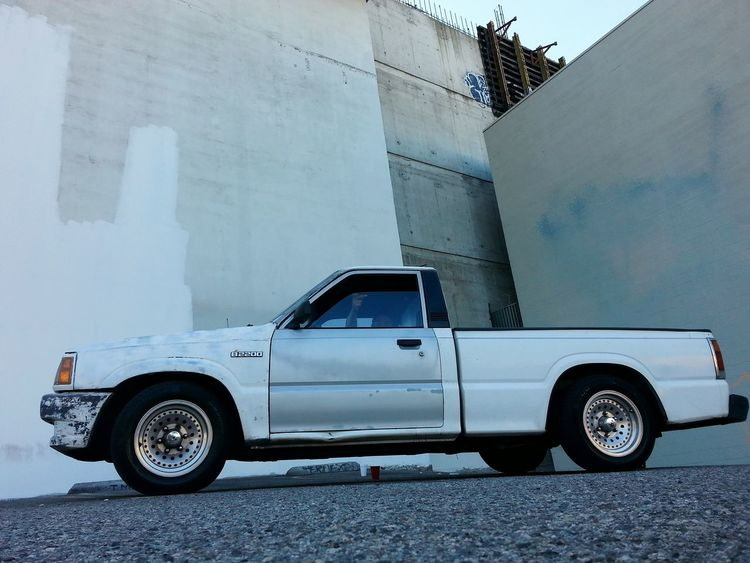 B2200 Mazda Truck My Project Truck 89 Missile That's Me Mazda Missile Truck Pickups