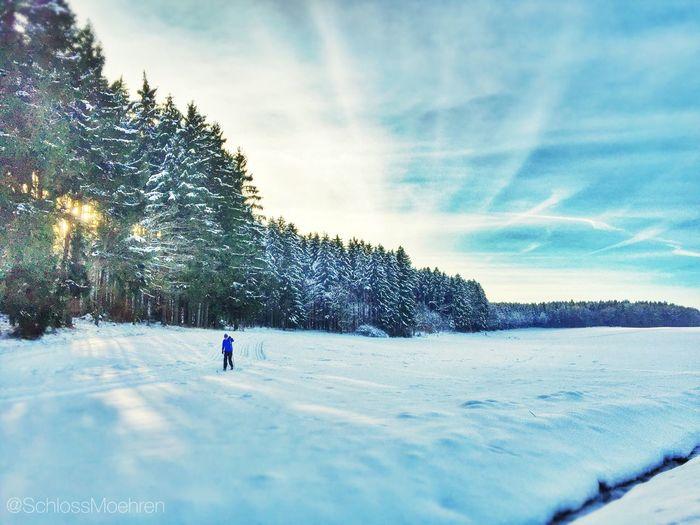 Langlaufen Altmühltal