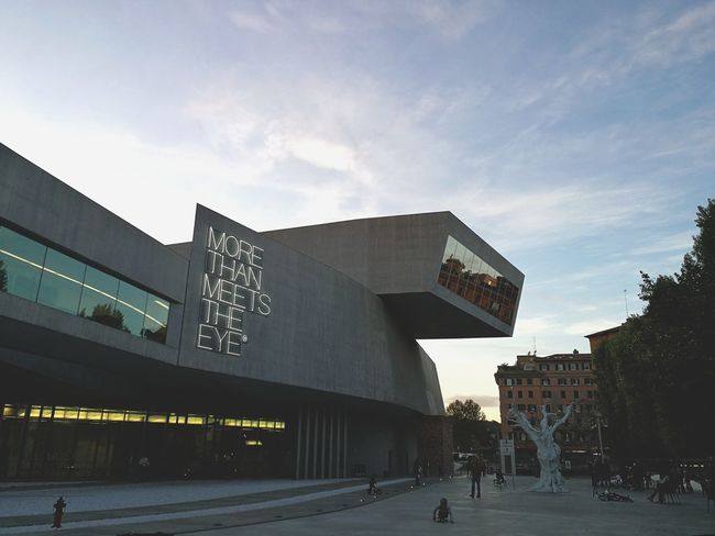 MAXXI Roma, Italy ZahaHadid Architecture Contemporary Art Shapes Evolution? Art Is Everywhere