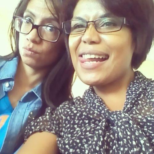 With dr.Sandra lagi.....Bloggerjugamanusia