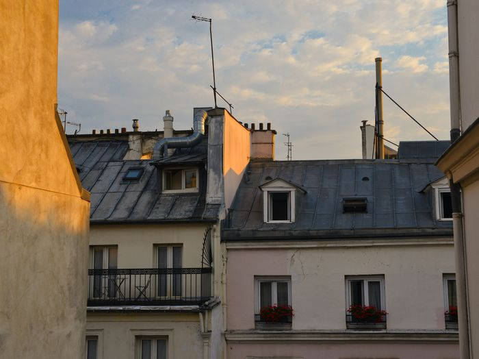 Apartment Architecture Balcony Building Building Exterior Built Structure City Cloud - Sky Day House No People Outdoors Residential District Roof Sky Sunset Town TOWNSCAPE Window