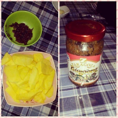 Craving for mango 😁🏡 Applemango GinisangBagoong Hot &spicy Zaragoza Fruits Filter Photogrid