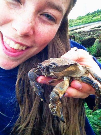 Crab Selfie Beach Boyf