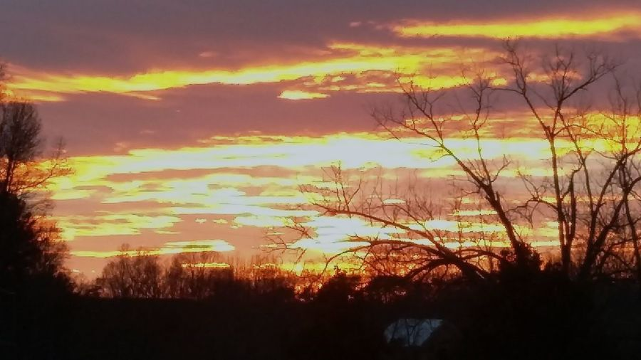 Nothing Like Carolina Sunsets In The Winter