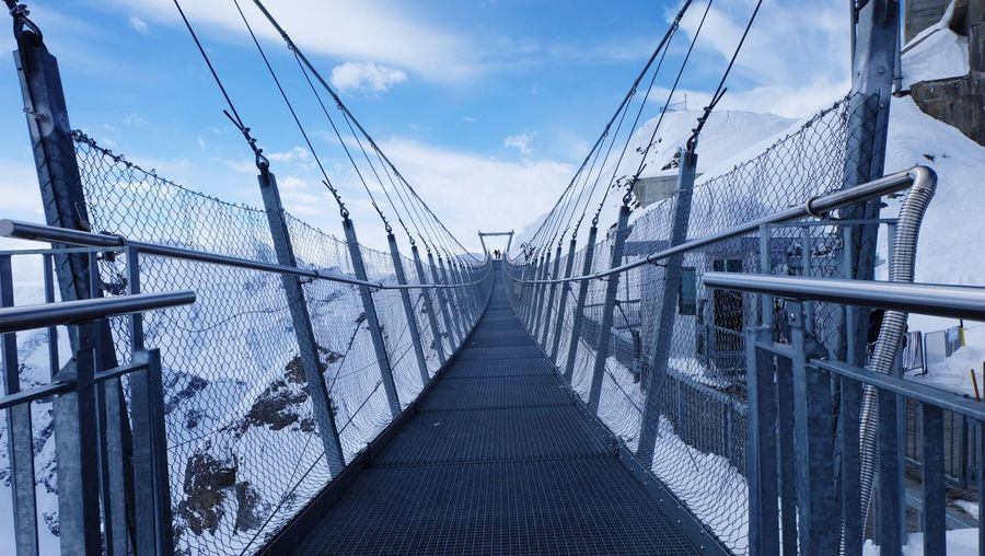 Technology Steel Skyscraper Cable Bridge - Man Made Structure City Business Finance And Industry Sky Architecture Cloud - Sky