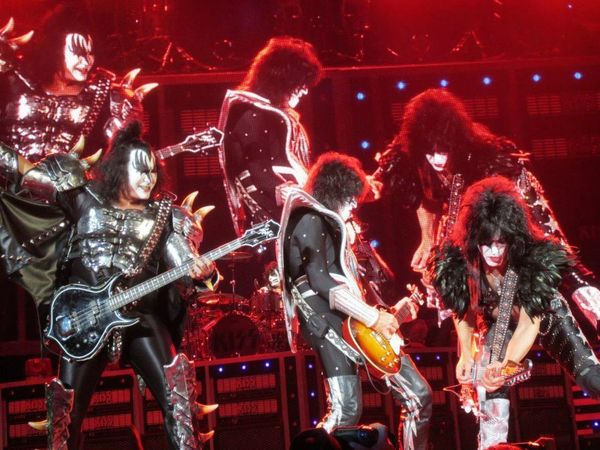 Kiss Concert Rock'n'Roll Party All Night Bands Concert Photography Gene Simmons Paul Stanley