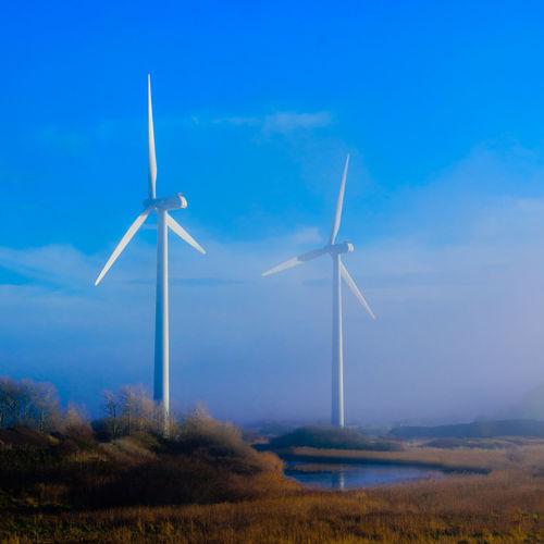 Windmills in