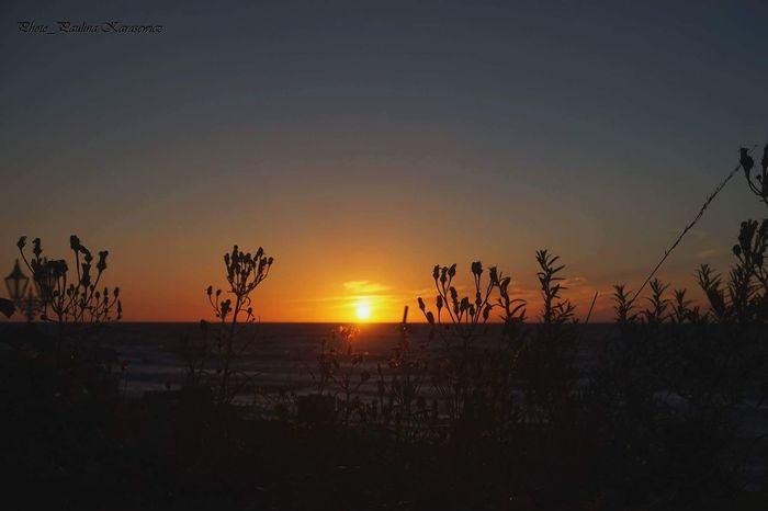 Słońce Plaza Zachód Słońca Morze 🌞🌊 Mielno Plaża First Eyeem Photo