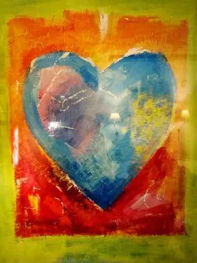 Heart Heart ❤ Hearts♡hearts Herz ❤ Herz сердце Multi Colored Stockholm, Sweden Stockholm сердце сердечко сердечко💙 картина
