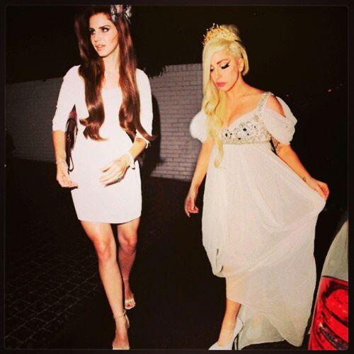 LanaDelRey Ladygaga . Two Princess that i L.O.V.E FtPlease