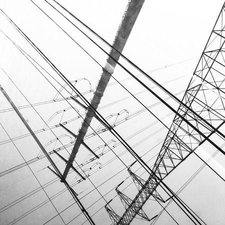 Pivotal Ideas Electricity  Perspective Lines Highvoltage Direction High Voltage