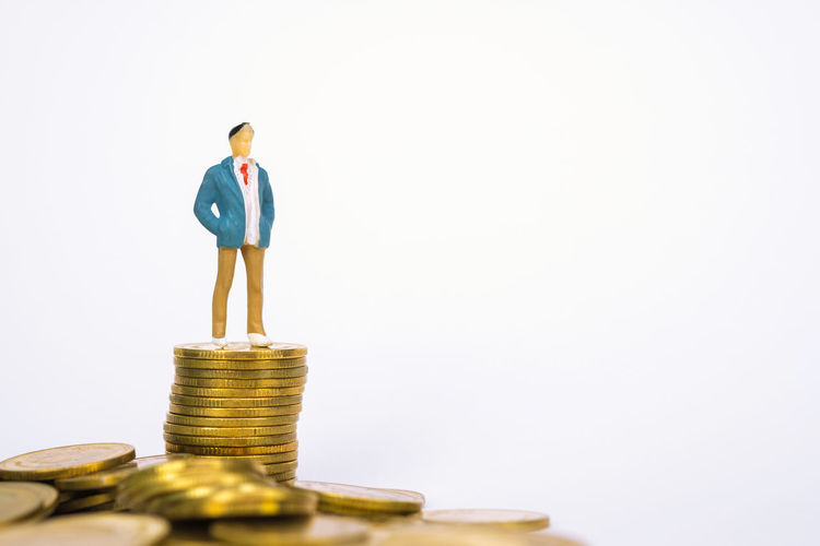 Figure miniature businessman or small people investor and office worker secretary standing on coin stack, for money and financial business success concept idea Background Bank Banking Business Businessman Cash Challenge Coin Coins Concept Cost Currency Earn Earnings Economy Exchange Figure Finance Financial Growth Income Invest Investing Investment Investor Jackpot Manage Management Market Miniature Money People Profit Purchase Retirement Save Savings Secretary Stack Stock Success Tax Top Treasure Vision Wealth Work