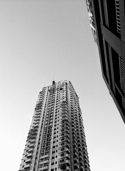 Architecture Skyscraper Low Angle View Building Exterior Tower City Built Structure Modern Clear Sky Tall No People Growth Outdoors Cityscape Day Sky
