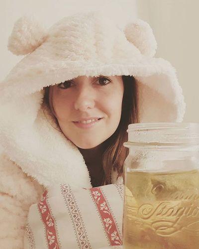 A ginormous mug of ChamomileTea a snuggly Dressinggown and an EarlyNight is what I need! Wipedout Mondayisabitch Sleepygirl  Pyjamatime Zzz Isitsaturdayyet
