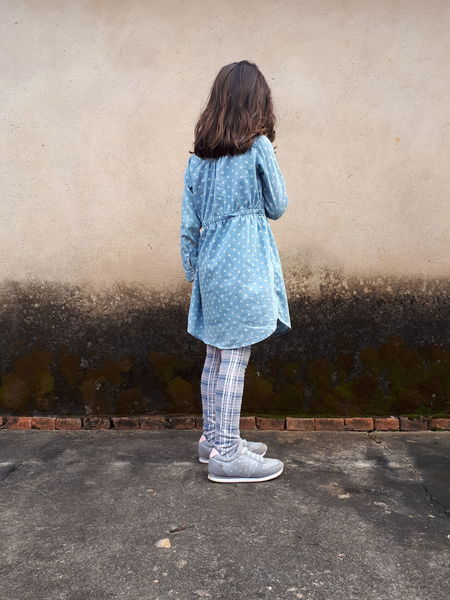 Indecision EyeEm Selects Child Childhood Girls Full Length Low Section Standing Rear View Casual Clothing The Fashion Photographer - 2018 EyeEm Awards