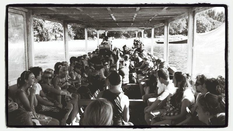 Crowded..!!.. Enjoying Life Travel Blackandwhite People