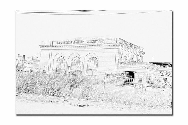 A 2nd Life For Oakland Grand Central Station 5 Oakland, Ca. 16th Street Train Station Depot Southern Pacific Railroad Built 1912 Amtrak Pencil Sketch  Rendering Terminal Building Monochrome_Photography Monochrome Severely Damaged 1989 Loma Prieta Earthquake Vacant Since 1994 2005 Purchased By BUILD Centerpiece Of Urban Renewal Project Developer: Bridge Housing (a Non-profit ) To Be A Performance Center For Special Events Architecture Beaux Arts Architectural Detail Architect : Jarvis Hunt Urban Photography Restoration Costs Estimated At $20million Graffiti Under Renovation