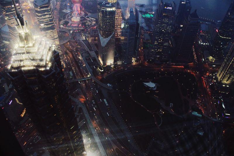 Shanghai city lights Shanghai, China First Eyeem Photo