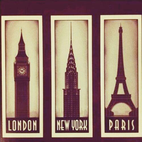 London Newyork Paris Beautiful
