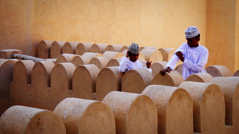 EyeEm Selects Oman Oman_photography Oman_photo Oman Fort Omani Dress Omanis Nizwa Fort Nizwa