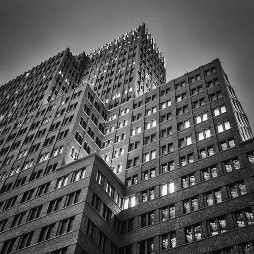 Kollhoff Tower Berlin Architecture Blackandwhite Fineart