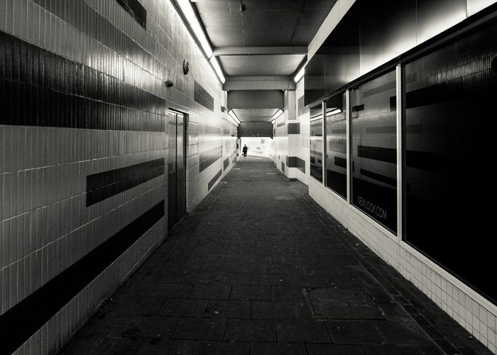 Tunnel vision Tunnelvision Tunnel Blackandwhite Streetphotography Black & White