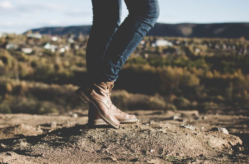 EyeEm Selects EyeEm Best Shots EyeEmNewHere Day Jeans Human Leg Outdoors Lifestyles Women Moody Travel Adventure Girl Perspective Photography Photo Of The Day Fresh On Market 2017 The Traveler - 2018 EyeEm Awards My Best Travel Photo Autumn Mood A New Perspective On Life