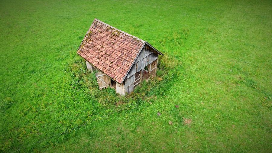 old wooden hut Agriculture Alte Holzhütte Architecture Building Dronephotography Gebäude Grass Holzhütte Houses Landscape_Collection Landschaftspark Duisburg-nord Landwirtschaft Nature Old Wooden Hut Outdoors Ruined Skyviewers Wooden Hut