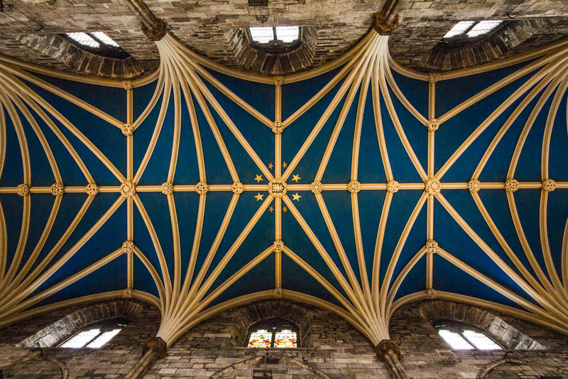 Cathedral Ceiling Edingburgh EyeEmNewHere Scotland St. Giles Cathedral Architecture Contrast History EyeEmNewHere