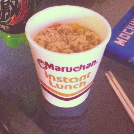 breakfast :) Maruchan  Yum