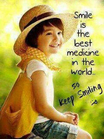 So plz smile
