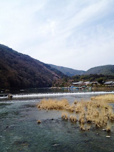 Water Sky Nature Beauty In Nature Mountain Scenics Outdoors Landscape Tranquil Scene Day No People Kyoto River