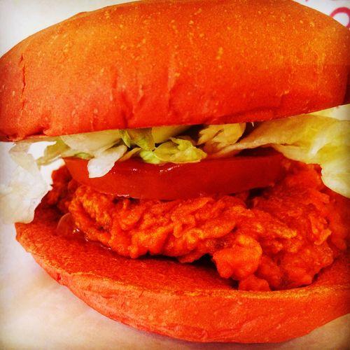 Burger Tabasco KFC Spicy Food Food Chicken Burger