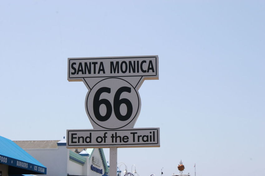 End of Route 66 on Santa Monica Pier, California Architecture Building Exterior Built Structure Clear Sky Communication Day End Of Route 66 End Of Trail Outdoors Road Sign Route 66 Route 66 Sign Route 66 Symbol Santa Monica Santa Monica California Santa Monica Pier Santa Monica, California Sign Signboard Signporn Signs SignSignEverywhereASign Sky Start Of Route 66 Text