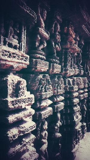 """""""What I have survived might kill you."""" Architecture Sculpture Suntemple Orissa Odisha Indianshutterbugs Rock Backgrounds Full Frame Pattern Close-up Surface"""