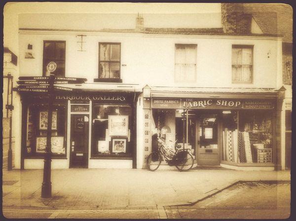 whitstable, kent Façade Monochrome Vintage Fx