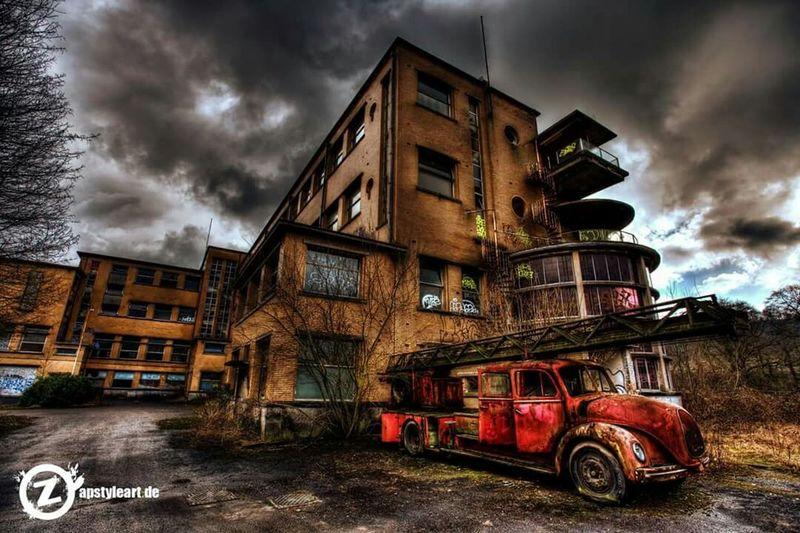 Urbex Lost Place Lost Urban Landscape