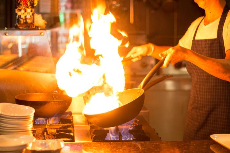 Burning Chef