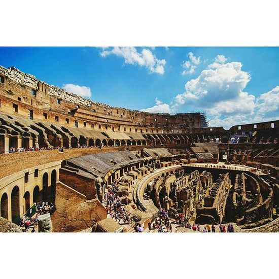 Collosseum Rome Igersrome Fiftyshadesof_history Historicalplaces