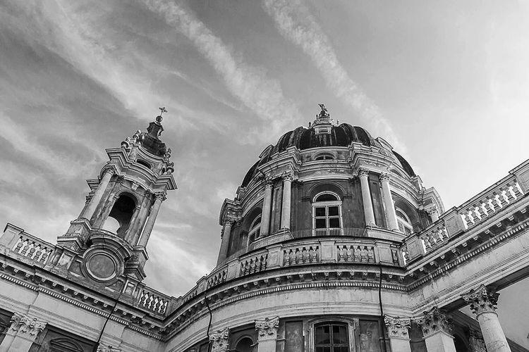 Basilica di Superga The Architect - 2016 EyeEm Awards Architecture Architecture_collection Piemonte Turin Italy Torino Superga (To) Basilica Church Chiesa Blackandwhite Black And White Black & White