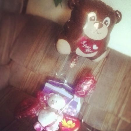 All late and shit but my valentines gifts ' <3 ^.^