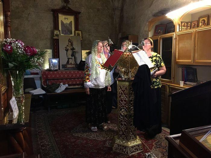 Russian Russian Orthodox Church Cagliari, Sardinia Sardegna Devotion Sing Singing Four People Four Women Devotional The Photojournalist - 2017 EyeEm Awards EyeEm Selects Investing In Quality Of Life HUAWEI Photo Award: After Dark