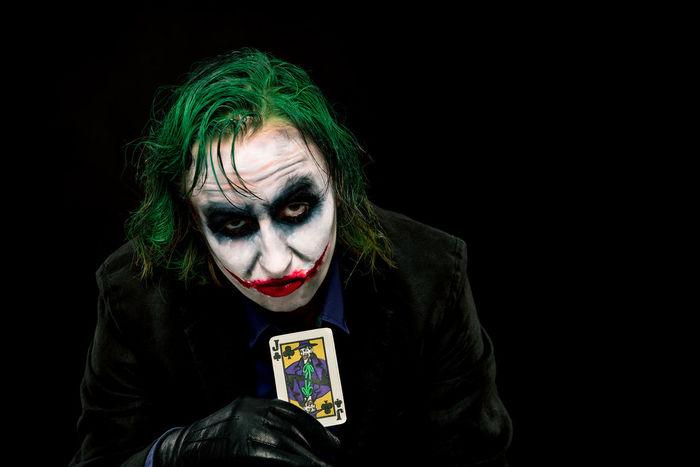 Batman Clown Comic Dark Knight Face Halloween Joker Joker Smile Jokerface Low Key Low Key Photography People Portrait Studio Why So Serious? BYOPaper!