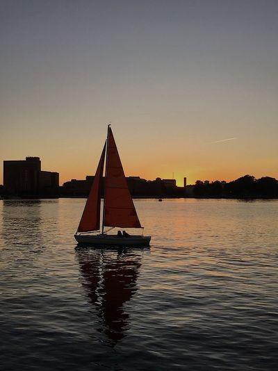 Sailboats and