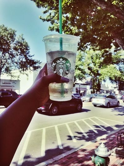 Nothing like enjoying Starbucks in the Hamptons! Starbucks Hamptons, NY Long Island